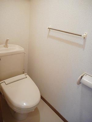 サンラフレ 02020号室のトイレ