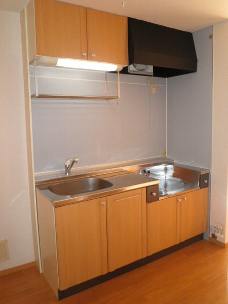 グリーンフラットC 102号室のキッチン