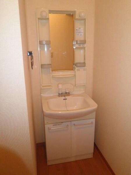 グリーンフラットC 102号室の洗面所