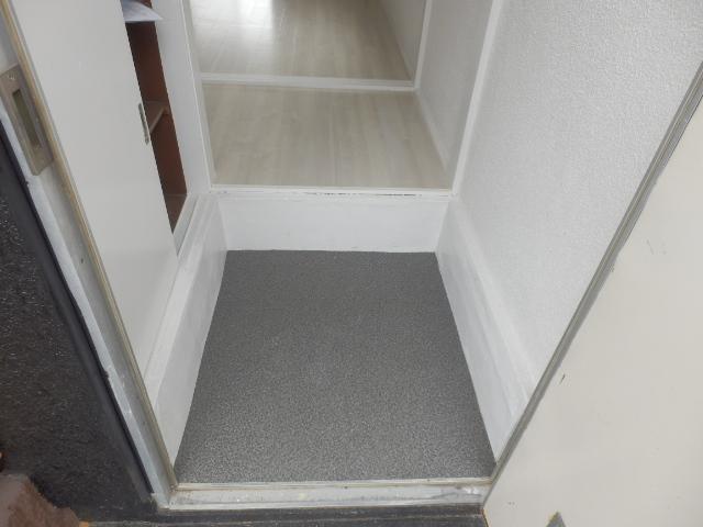 ブルースカイ石井B棟 111号室の玄関