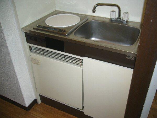 エトワール宇都宮第1 804号室のキッチン