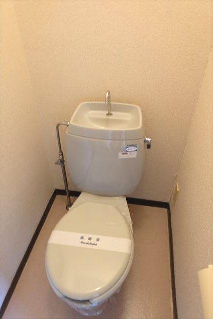 レスポワール小山 101号室のトイレ