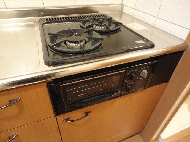 メゾン・ドゥ・ナミA 205号室のキッチン