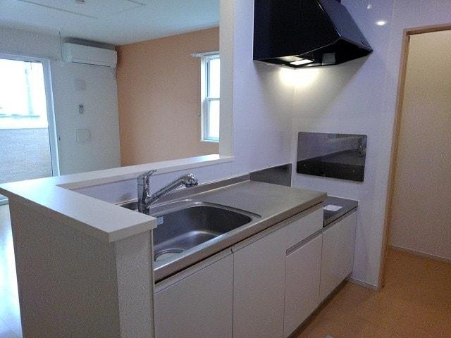 エヌエスアール 01010号室のキッチン