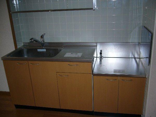 ヒラソールグランデ 02030号室のキッチン