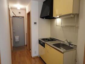 フラレアII 102号室のキッチン