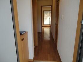 フラレアII 102号室の玄関