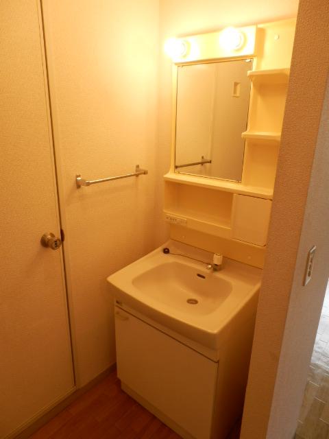 セジュール 201号室の洗面所