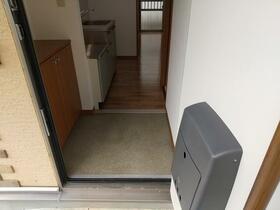 コーポ光 101号室の玄関