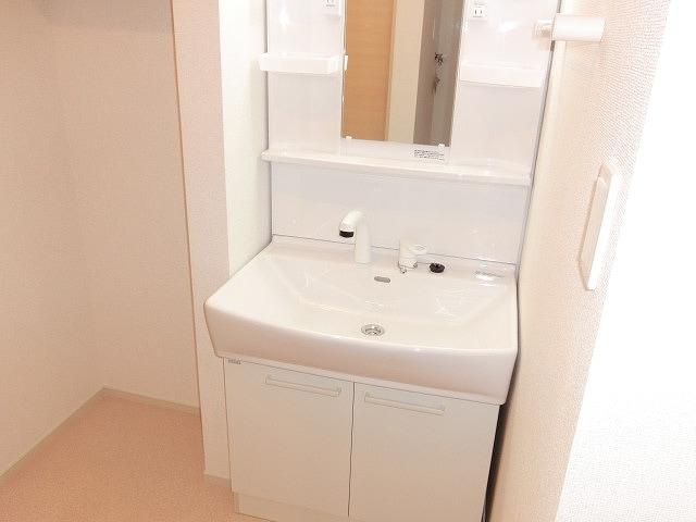 グリーンガーデンV 01010号室の洗面所