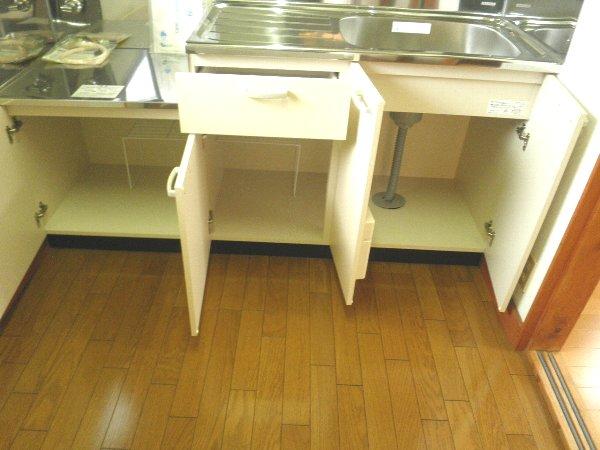 大森ハイツ 101号室のキッチン