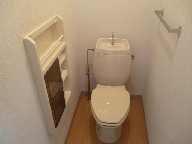 ハイツセイフA 101号室のトイレ