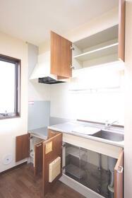 マーキュリーハイツF棟 102号室のキッチン