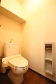 マーキュリーハイツF棟 102号室のトイレ