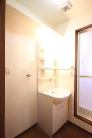 マーキュリーハイツF棟 102号室の洗面所