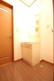 ブルーセントラルA棟 103号室の洗面所