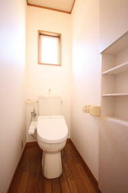 ブルーセントラルA棟 103号室のトイレ