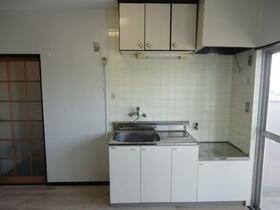 下館ハイツ 402号室のキッチン