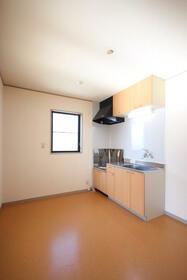 エステイトヒルA棟 205号室のキッチン