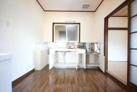 メゾン嵐 Ⅰ 201号室のキッチン