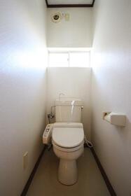 メゾン嵐 Ⅰ 201号室のトイレ