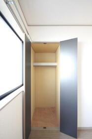 エステイトヒルA棟 202号室の収納