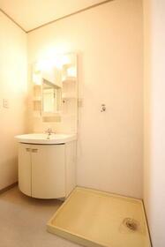 エステイトヒルA棟 202号室の洗面所