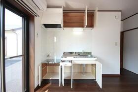 メルハウスのキッチン
