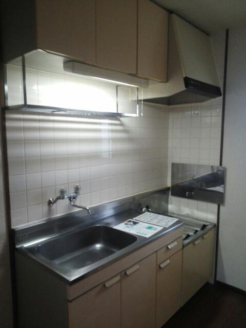 ヒルズ鶴見D 02020号室のキッチン