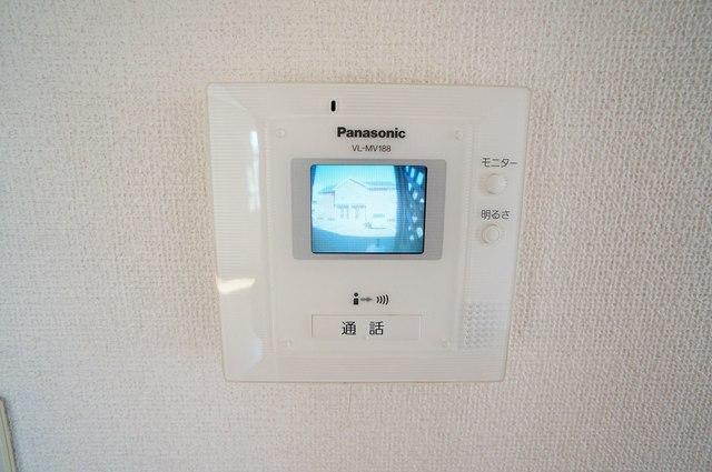 霞台ハイツB 02010号室のセキュリティ
