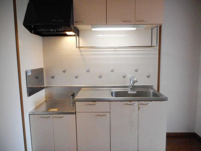クレセールおおつ野A 01020号室のキッチン