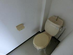 コーポ縞 A106号室のトイレ
