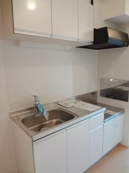 チャオ ジェノバ 01030号室のキッチン