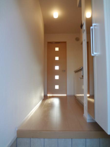 チャオ ジェノバ 01030号室の玄関