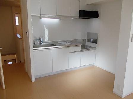 アルカンシェルカンダツアルファ 02060号室のキッチン