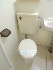 ソワサント 0101号室のトイレ