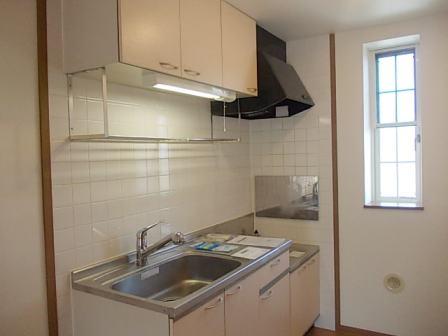 ボヌール・ジョア 02030号室のキッチン