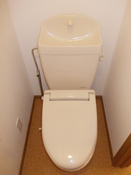 ボヌール・ジョア 02030号室のトイレ