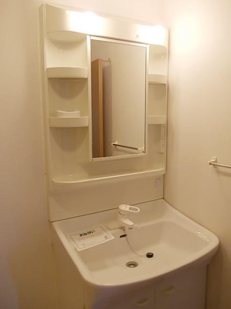 ボヌール・ジョア 02030号室の洗面所