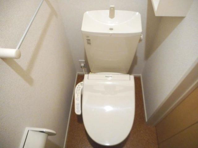 アイランドヒルズ学園 Ⅰ 01040号室のトイレ