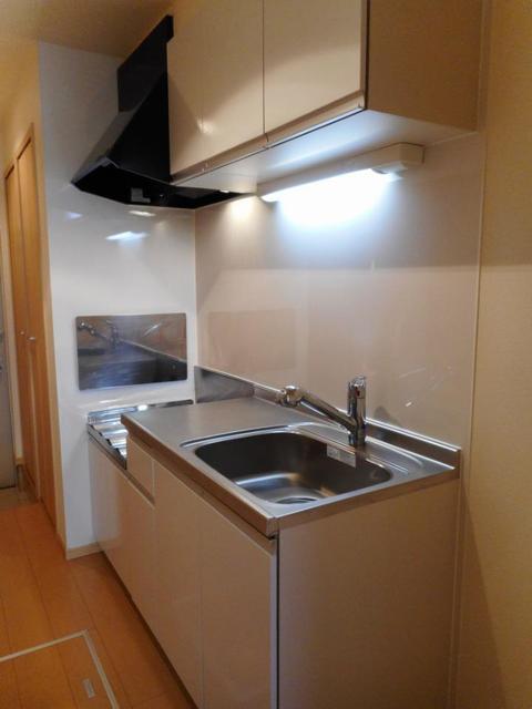 プレ・アビタシオン土浦Ⅳ 01030号室のキッチン