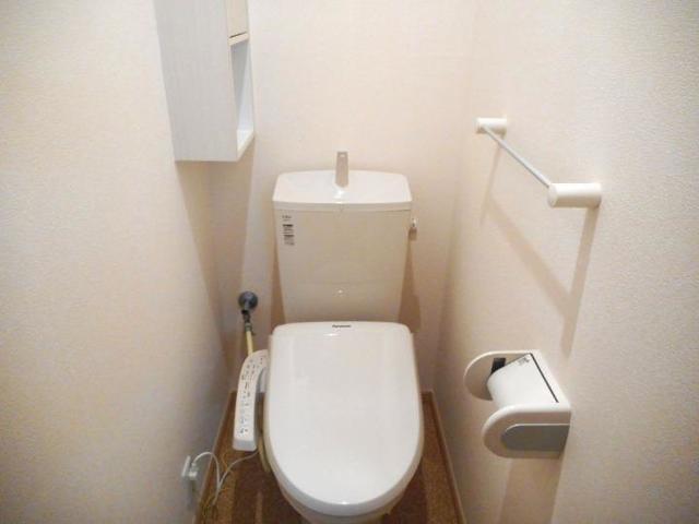 プレ・アビタシオン土浦Ⅳ 01030号室のトイレ