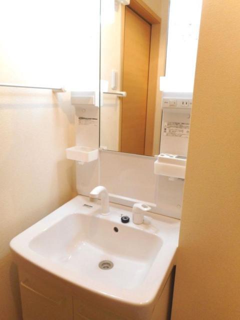 プレ・アビタシオン土浦Ⅳ 01030号室の洗面所