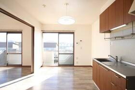 マーキュリーハイツE棟 201号室のキッチン