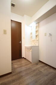 マーキュリーハイツE棟 201号室の洗面所