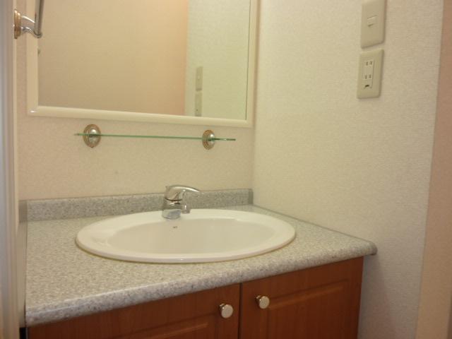 アンジュリーク 105号室の洗面所