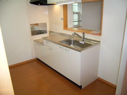 メルヴェールナカムラ壱番館 02040号室のキッチン