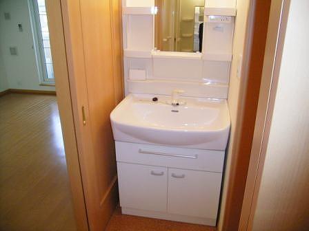 メルヴェールナカムラ壱番館 02040号室の洗面所