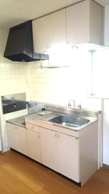 サクラハイムC 01010号室のキッチン