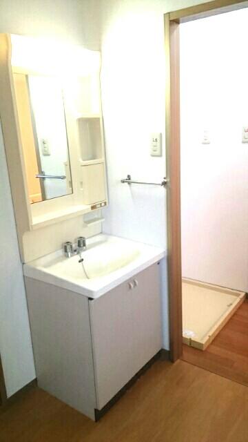 サクラハイムC 01010号室の洗面所